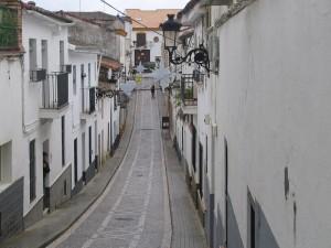 Una via di Jabugo
