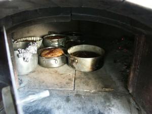 Nel forno