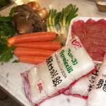 Gli ingredienti per il Jab Tchè