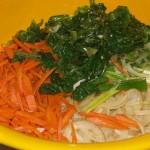 Le verdure per il Jab Tchè