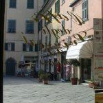 La piazza di Pontremoli
