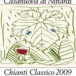 L'etichetta per il Chianti Classico Casanuova di Nittardi 2009