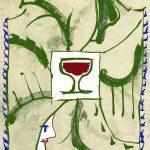 La carta seta per le bottiglie di Chianti Classico Casanuova di Nittardi 2009