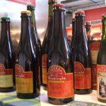 Alcune birre del Birrificio Menaresta