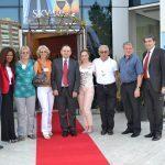 Ambasciata Serbia in visita