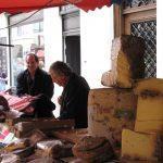 Formaggi al mercato