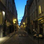 Nel Marais, di sera