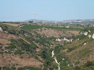 colline intorno a usini