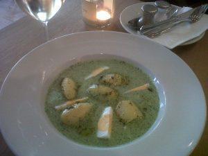 Francoforte salsa verde