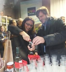 Pierfrancesco Majorino inaugura Bottega Libera Milano