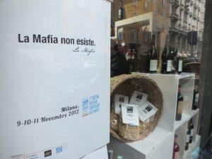 Slogan festival Beni Confiscati alle mafie