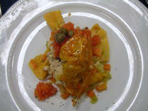 Caramelle di suro e patate in veste ortolana