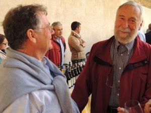 Augusto Guidugli con Romano Franceschini