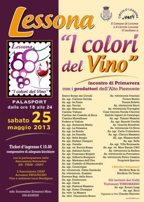 I Colori del Vino- Mostra vini in Lessona
