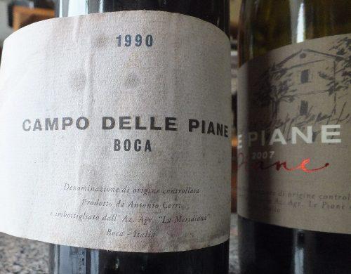 Boca Campo delle Piane 1990