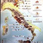 cartina vulcani