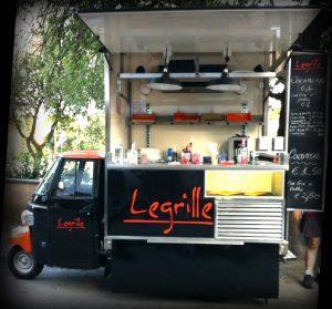 grille di Street Food Mobile