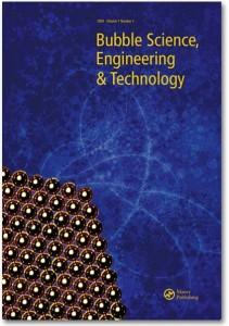 La copertina della rivista scientifica dedicata alle bollicine (non solo del vino, però).