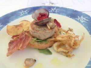 La Cantinetta di Bolgheri - hamburger di palamita