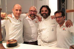 Marco Stabile e parte del team di Pilsner Urquell Italia
