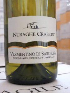 Vermentino di Sardegna Nuraghe Crabioni