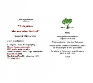 Anteprima Merano wine festival