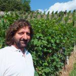Giuseppe Guglielmo, nella vigna Ca' Novi