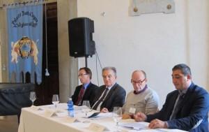 I relatori della tavola rotonda a Castiglione del Lago