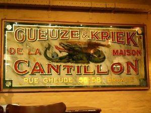 Cantillon - pubblicità