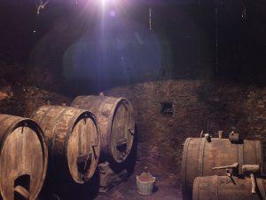 cantina sotterranea Valtellina