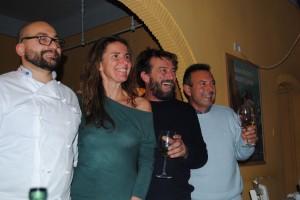 Roberto Diena, Laura Angelini, Giovanni Soldini, Federico Salvetti