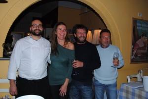 Roberto Diena, Laura Angelini, Giovanni Soldini, Stefano Salvetti