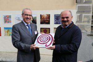 Fabrizio Bindocci e Oscar Farinetti
