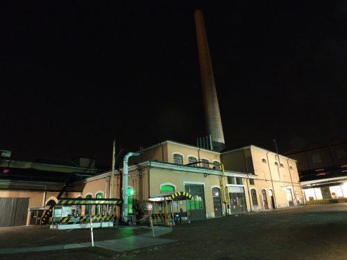 fabbrica branca notte