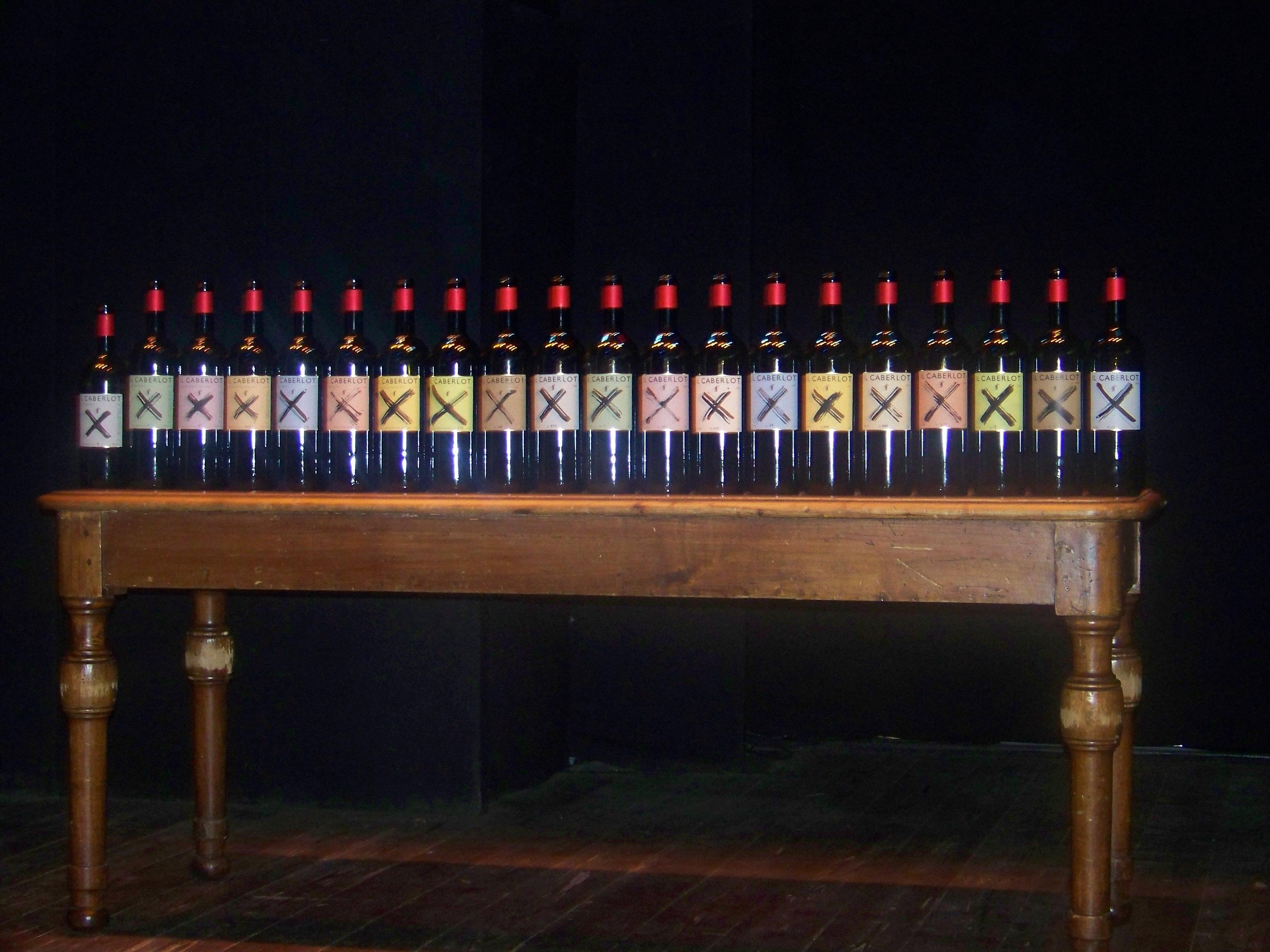 Caberlot_sfilata bottiglie