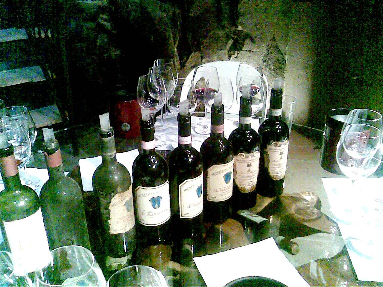 Il Marroneto_bottiglie