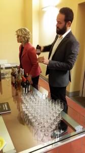 Vin Santo in degustazione