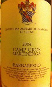 Camp Gros Martinenga 2004
