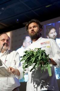 Carlo Cracco e Paolo Marchi - credits Brambilla:Serrani