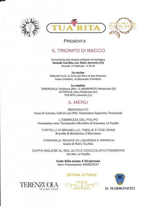 IL TRIONFO DI BACCO PDF