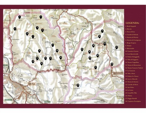Mappa-Berardenga