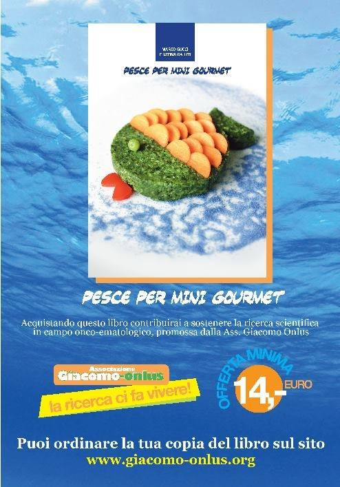 locandina Pesce Per Mini Gourmet  - Giacomo onlus