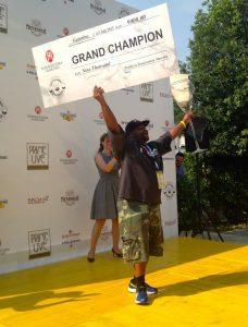 John Clemente il vincitore