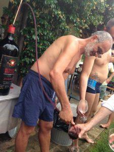Maurizio Menichetti spilla il Poggione 2010