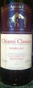 Chianti Cl Ris 2011 San Martino