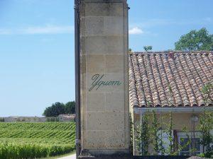 ingresso dello Chateau  d'Yquem