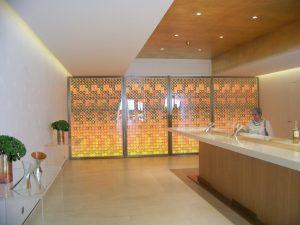 nuova sala degustazione Chateau d'Yquem