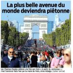 Dalla prima pagina de Le Parisien del 7 gennaio
