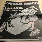 Copertina di Charlie Hebdo, ad un anno dalla strage