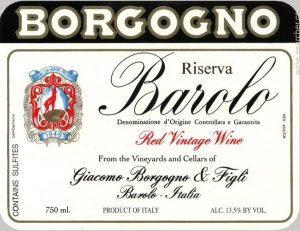 Borgogno Riserva eti